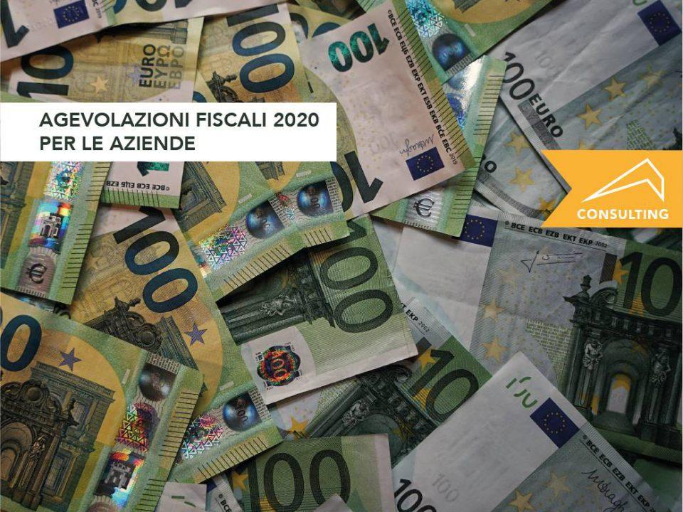 agevolazioni fiscali 2020 aziende